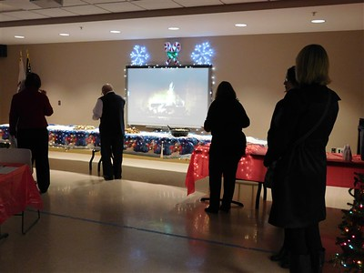 Mokena Community Library Holiday Business After Hours & Manhart Dedication of History Room