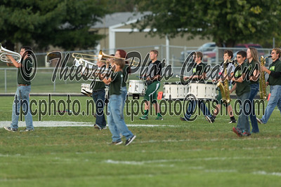 Monrovia band and pregame 9-25-15
