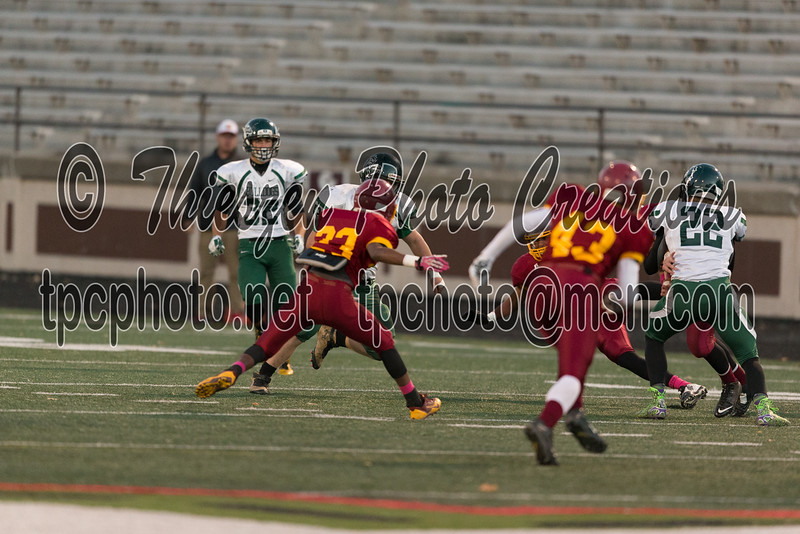 - Monrovia @ Scecina Football at  Arsenal Tech- Indianapolis, IN, USA -  Photo by Eric Thieszen.