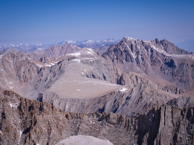 Northward view toward Mt. Williamson