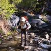 First stream crossing
