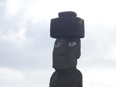 Moai with Two White Eyes - Fred Chu '67 P03 P06