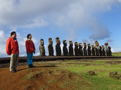 Fred and Anita Chu at Easter Island - Fred Chu '67 P03 P06