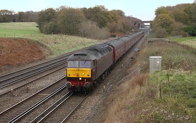 47832 Potbridge 25/11/15 5Z85 Southall to Swanage