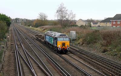 57311 Worting Junction 19/11/15 6Z70 Willesden Brent to Eastleigh