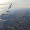 Leaving Philadelphia for London on American Airlines flight 736, a Boeing 757-200.