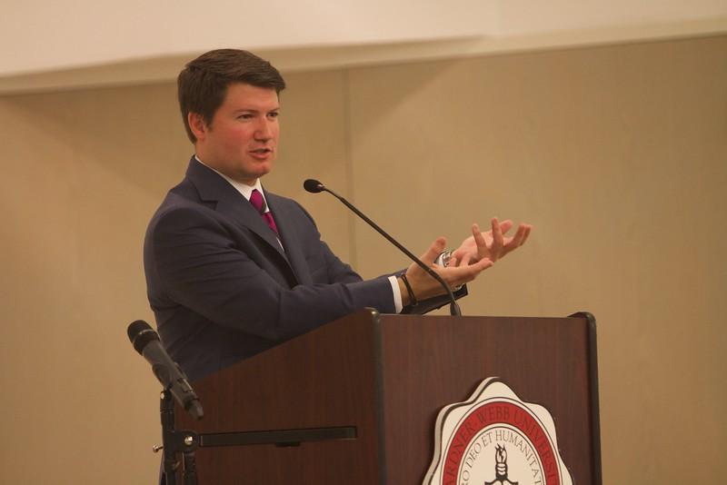 Cameron Johnson at Gardner-Webb University; Fall 2015.