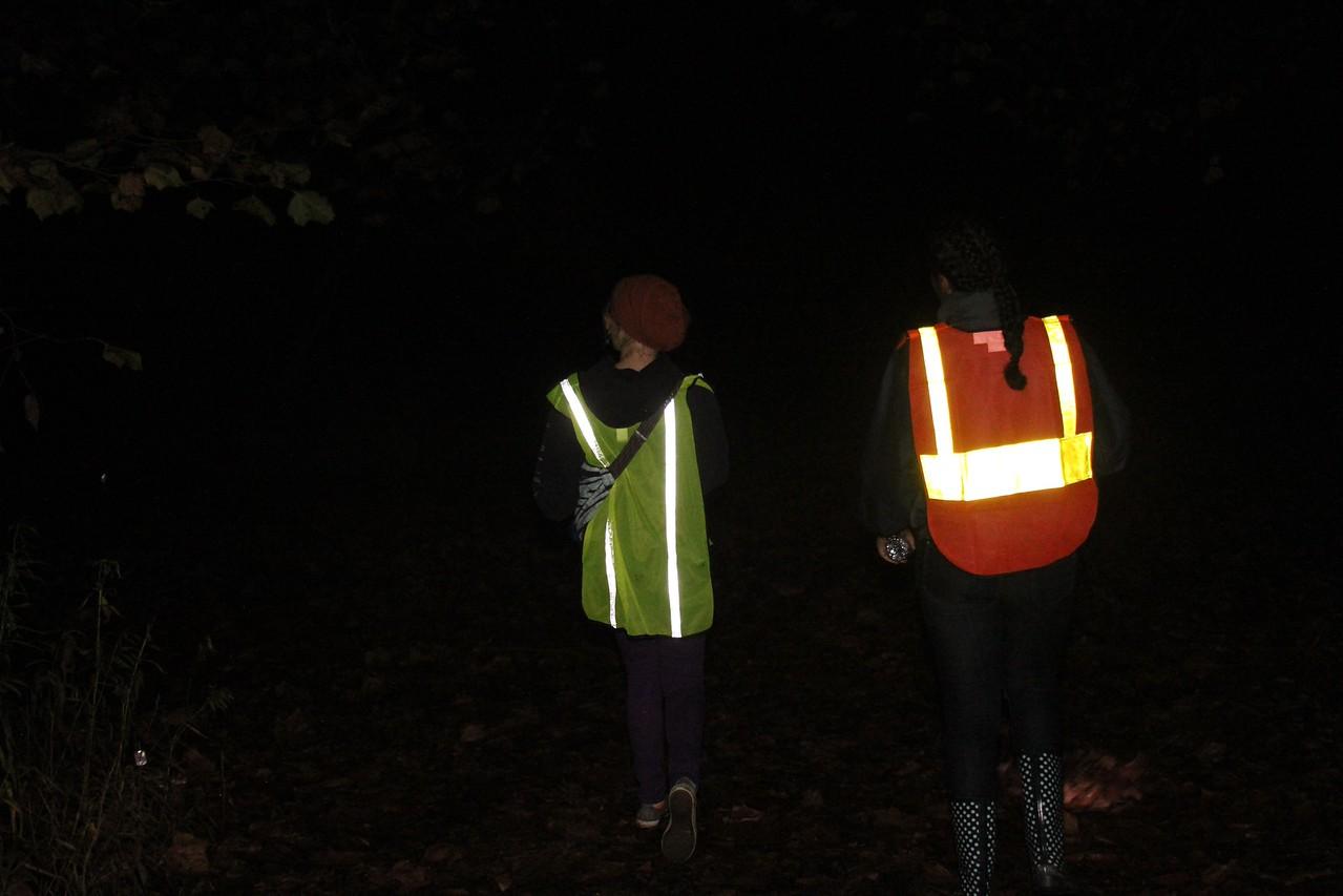 The river walk team on patrol