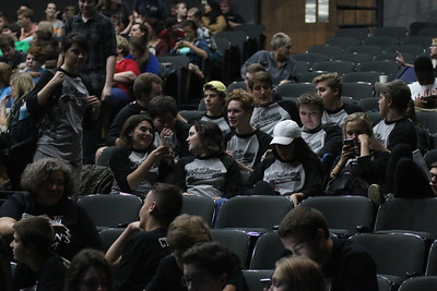 On Friday and Saturday, local high school theater groups spent the day at Dover Theater on GWU's campus participating in NCTC, a high school theater competition.