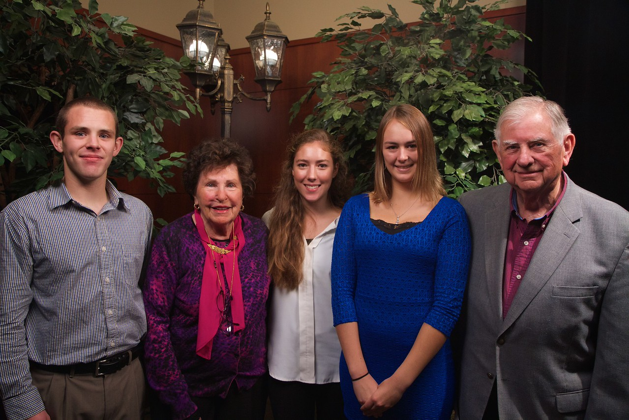 Scholarship Luncheon; Fall 2015. Dick and Betty Bowling