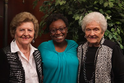 Scholarship Luncheon; Fall 2015. Dot and Faye Spangler