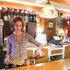 JOED VIERA/STAFF PHOTOGRAPHER Lockport, NY-Ann Murphy makes a cocktail at Shamus Restaurant