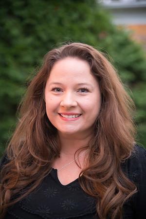 JOED VIERA/STAFF PHOTOGRAPHER Lockport, NY-Katie Mussachio at her home. Mussachio won an award in online teaching.