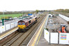 16 November 2015 :: A photograph taken mainly to demonstrate the major changes that are taking place at Severn Tunnel Junction Station as 66183 passes light engine on its way to Avonmouth