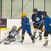 JOED VIERA/STAFF PHOTOGRAPHER Lockport, NY-Skaters play hockey at Cornerstone Arena.