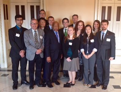 Nunn Security Fellows DC Visit with Congressman Lewis