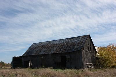 Barn on March