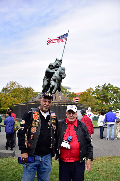 10. IWO JIMA MEMORIAL by Ron Buteau