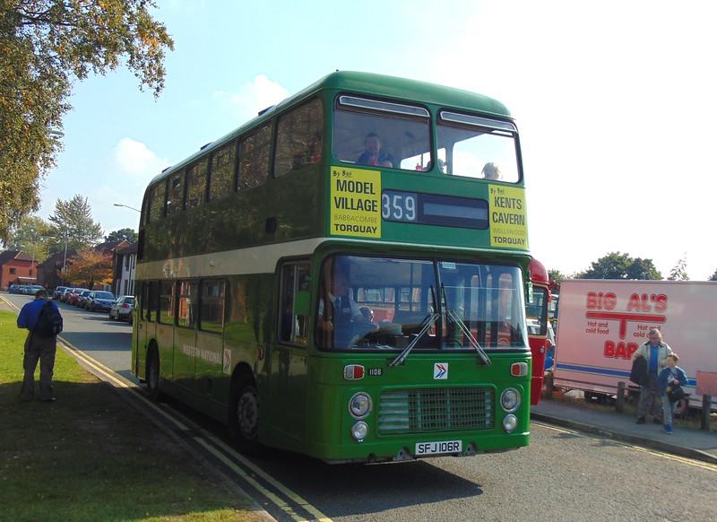 Bristol VR ECW SFJ106R 1106 in Western National livery at Amersham.