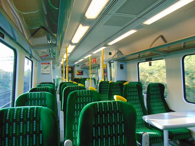 London Midland Class 350 Desiro no. 350371 interior.