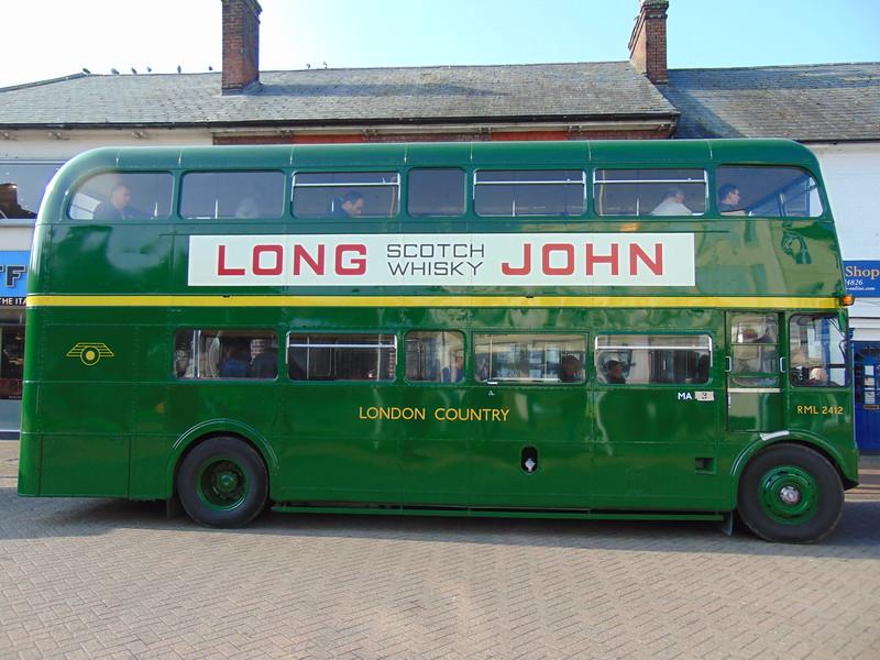 AEC Routemaster JJD412D RML2412 in Chesham.