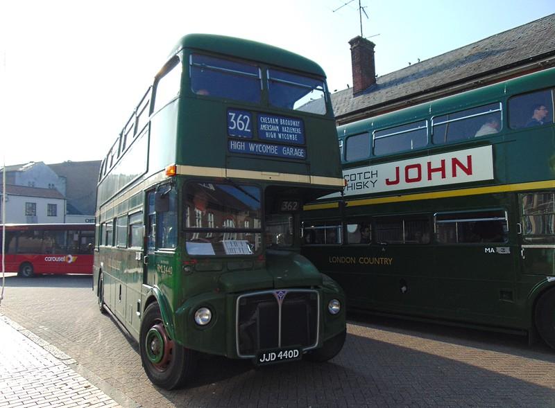 AEC Routemaster JJD440D RLK2440 in Chesham.