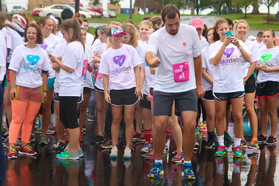 On a rainy Saturday morning, Gardner-Webb hosted a Color Dash 5k for students, faculty, and the local community.