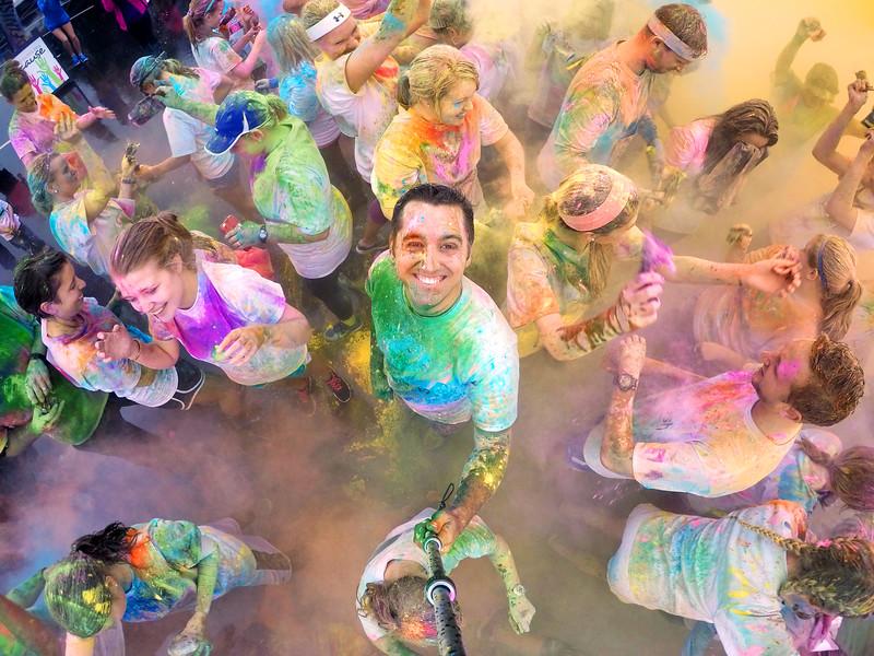 GWU Color Dash 5k 2015