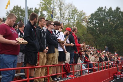 Fans came out to support their Runnin' Bulldogs!