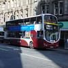 Lothian Buses Volvo Wright Eclipse Gemini SN57GMY 869 in Edinburgh on the 37 to Penicuik.