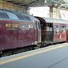 The Royal Scotsman charter at Edinburgh Waverley, hauled by WCRC Class 57 no. 57313.
