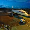 British Airways Airbus A319 G-EUOD at Edinburgh Airport.