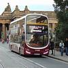 Lothian Buses Volvo Wright Eclipse Gemini BN64CPZ 411 in Edinburgh on the 3 to Clovenstone.