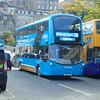 Lothian Buses Airlink Wright Streetdeck SA15VTE 427 in Edinburgh on the 100.