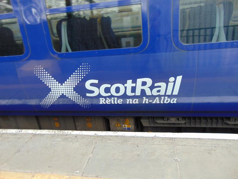 ScotRail logo on 334036.