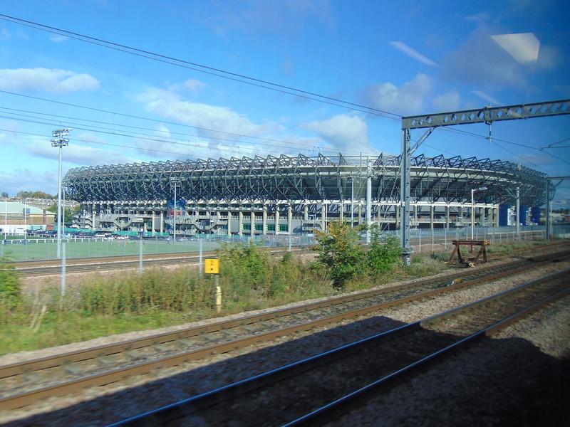 Murrayfield stadium in Edinburgh.