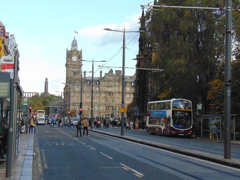 Edinburgh's Princes Street.