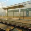 The staff halt at Edinburgh Trams' Gogar depot.