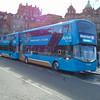 Lothian Buses Airlink Wright Streetdeck SA15VTL 432 in Edinburgh on the 100.