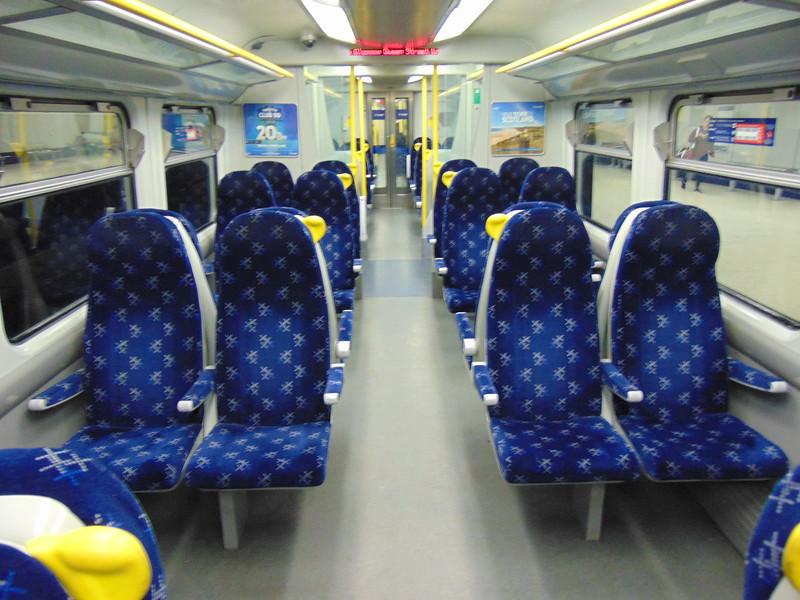Abellio ScotRail Class 334 Juniper no. 334036 interior.