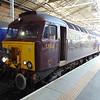 West Coast Railway Company Class 57 no. 56313 on the Royal Scotsman charter at Edinburgh Waverley.