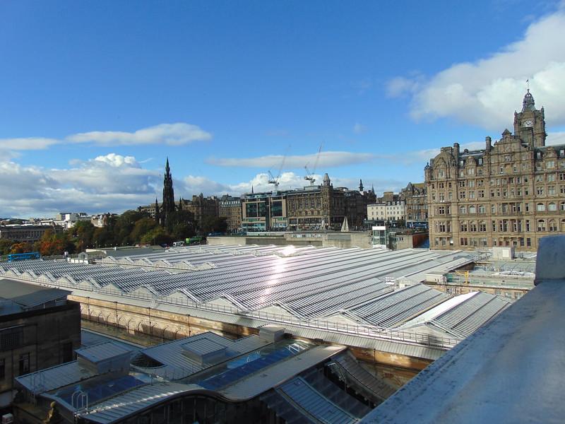 Edinburgh Waverley station roof.