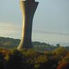 Edinburgh Airport control tower.