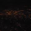 Flying over central Birmingham.