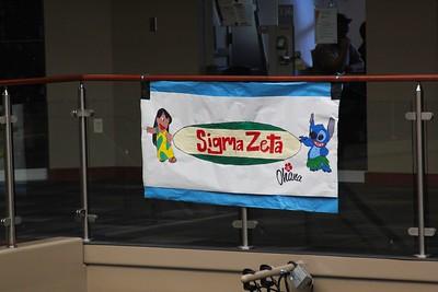 Sigma Zeta's Lilo and Stitch themed banner