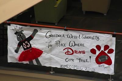 Dawg Pound's team spirit banner