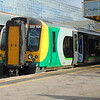 London Midland Class 350 Desiro no. 350104 at Milton Keynes Central on the 15:54 to Birmingham.