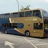 Stagecoach Gold Oxford S3 branded Enviro 400 OU12FFV 15831.