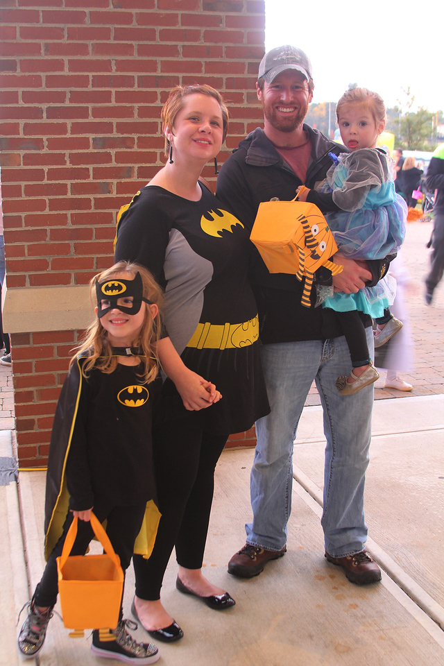 Family and friends from the Cleveland County joined in 'Octoberfest' at GWU, Thursday, October 29, 2015. Students and Staff volunteered to provide games and candy for the communities families.