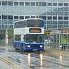 Diamond Coaches Volvo Olympian Alexander Royale N125YRW at Milton Keynes Central on rail replacement.